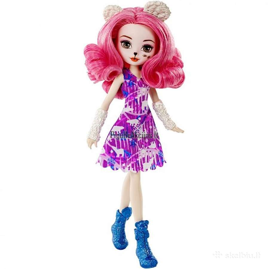 Ever After High® lėlė Snow Pixie Veronicub Dnr65