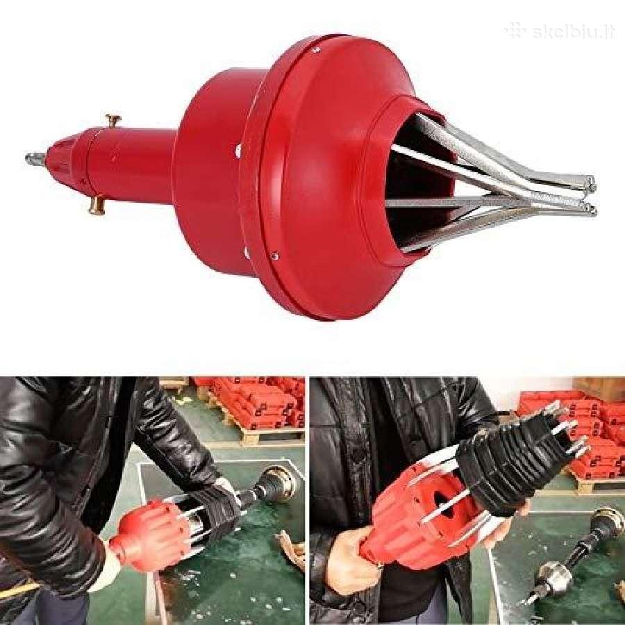 Įrankis pusašių gumoms uždėti orinis 25 - 110 mm