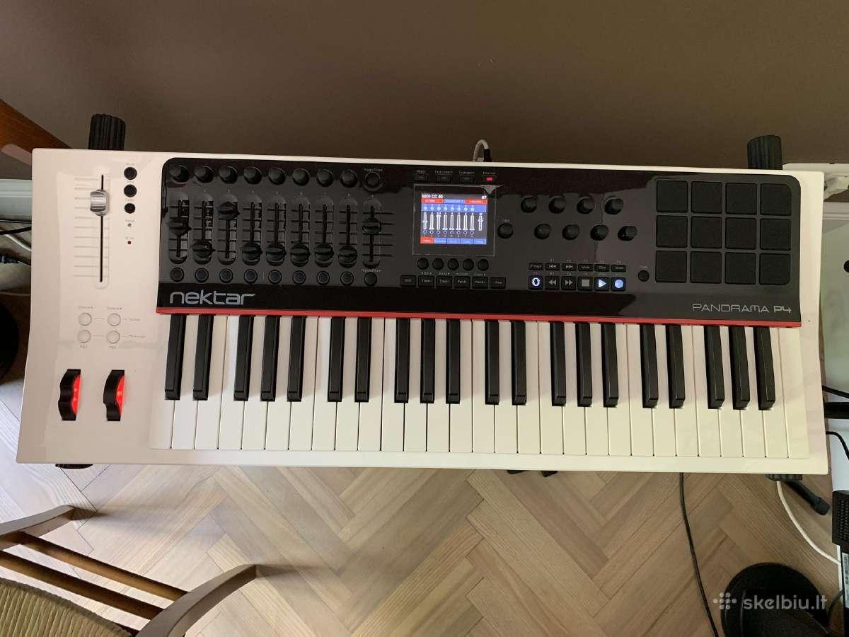 Nektar Panorama P4 midi klaviatūra