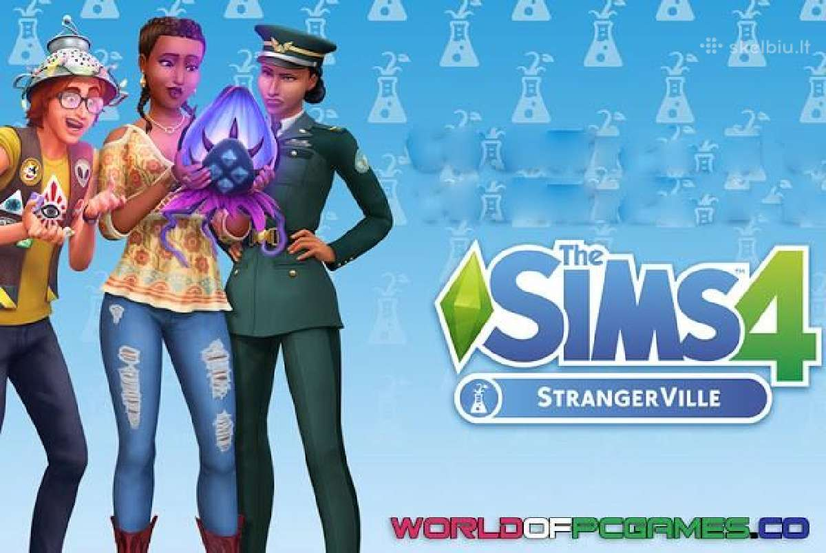 The Sims 4 Strangerville All In One