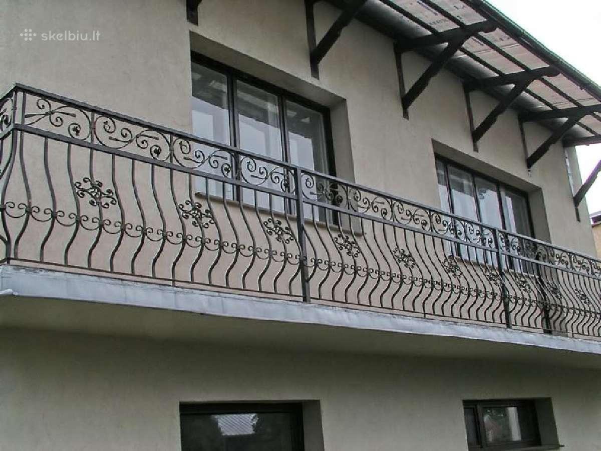 Pirkciau balkono turekla