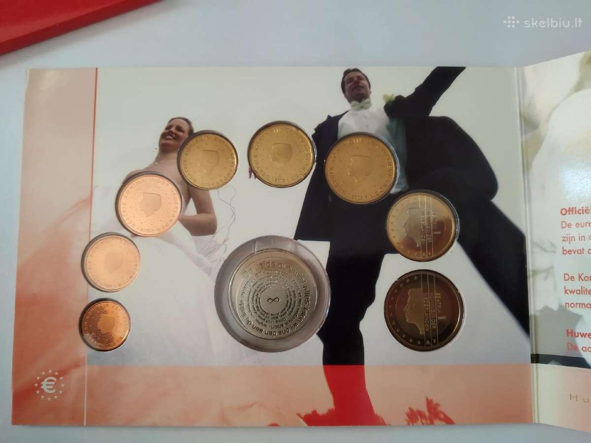 Euro monetų rinkiniai