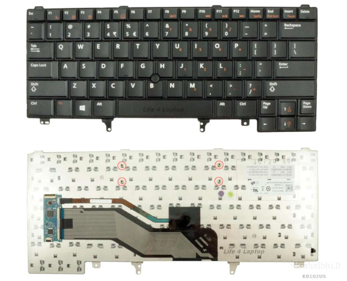 Klaviatūros Dell
