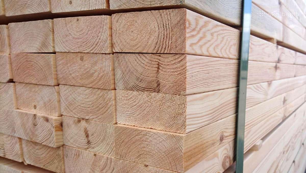 Kokybiška lietuviška statybinė mediena!