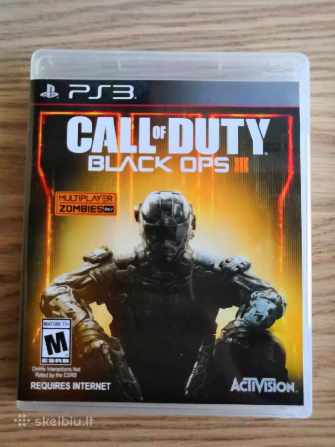 Playstation 3 žaidimas Call Of Duty Black Ops 3