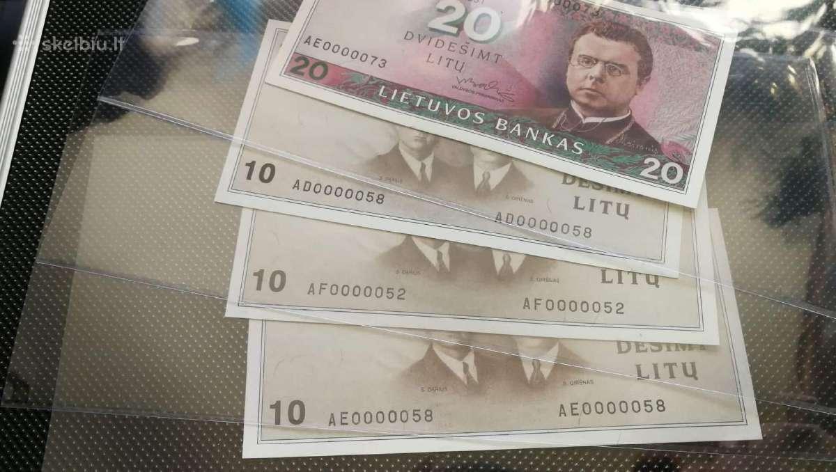 Perku lietuviškas monetas ar banknotus