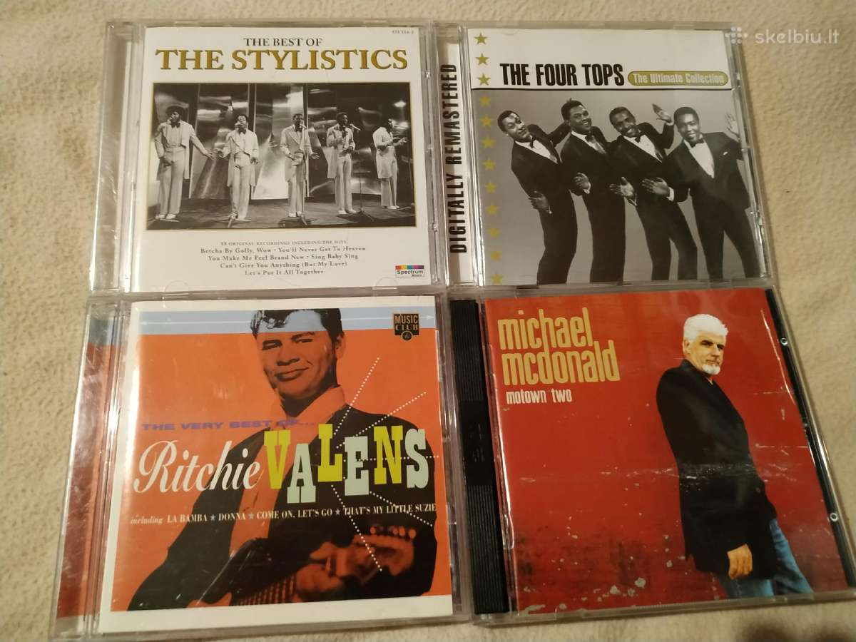 Ritchie Valens Michael Mcdonald Four Tops Stylisti