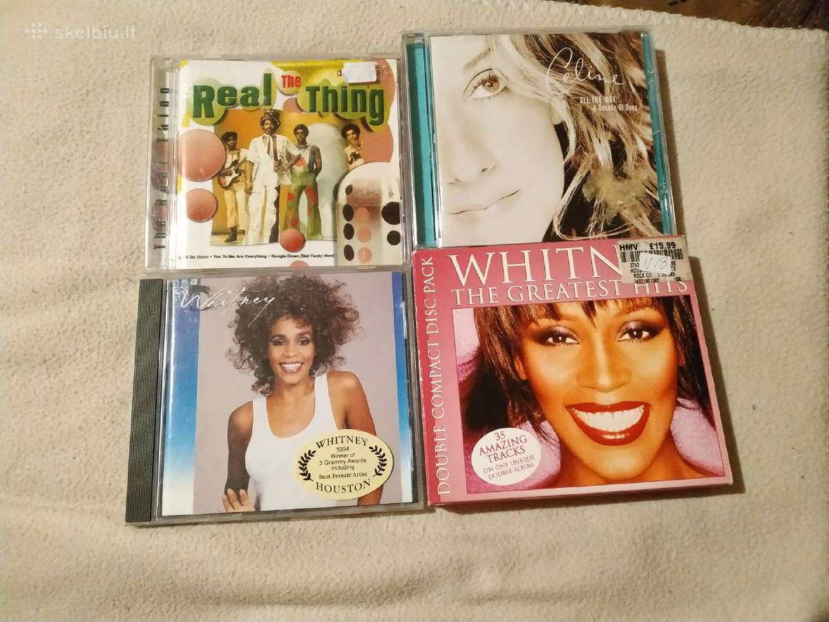 Celine Dion Whitney Houston The Real Thing CD
