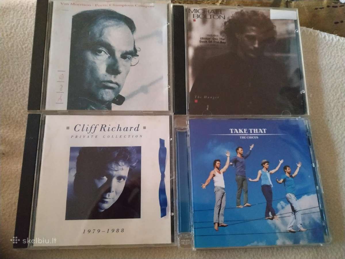 Van Morrison michael Bolton Cliff Richard CD