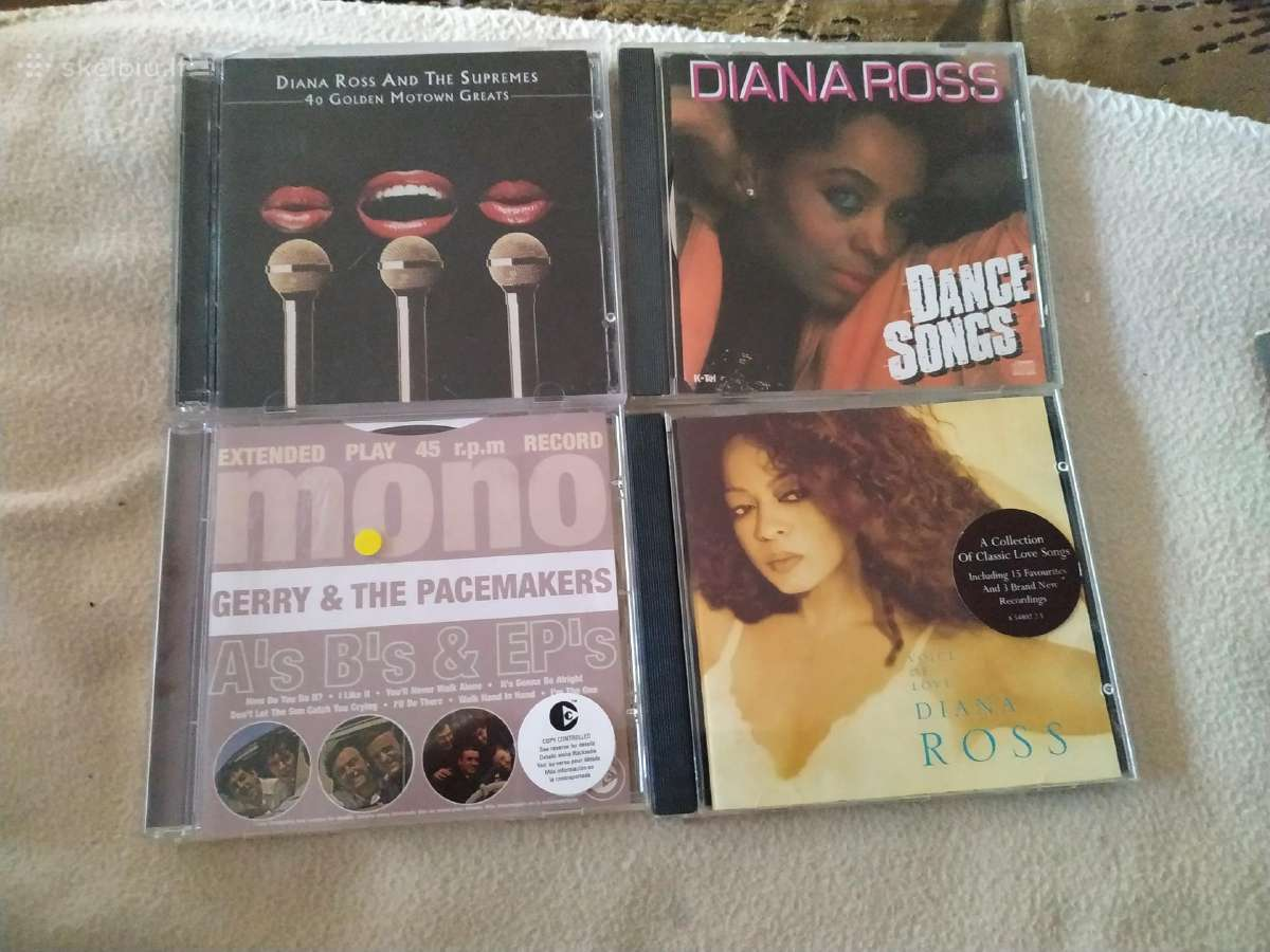Diana Ross Gerry & The Pacemakers CD