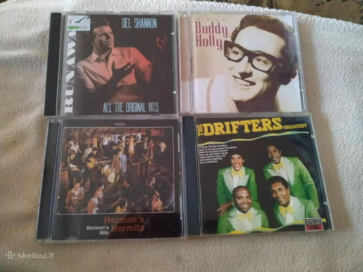 Del Shannon Buddy Holly Hermans Hermits Drifters