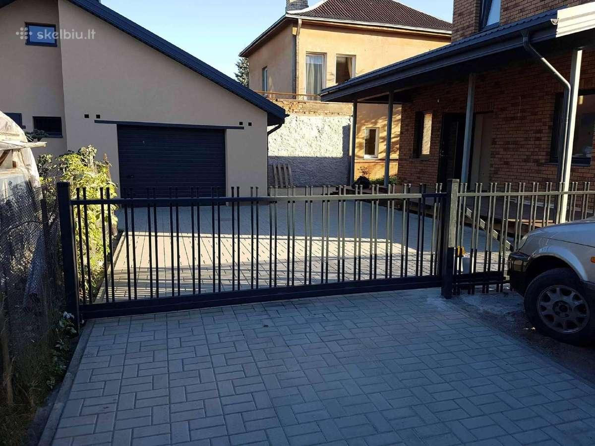 Kiemo vartai, varteliai, tvoros, automatika