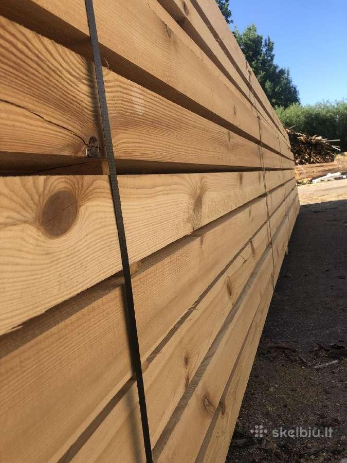 Statybinė, kalibruota mediena, iki 9m.