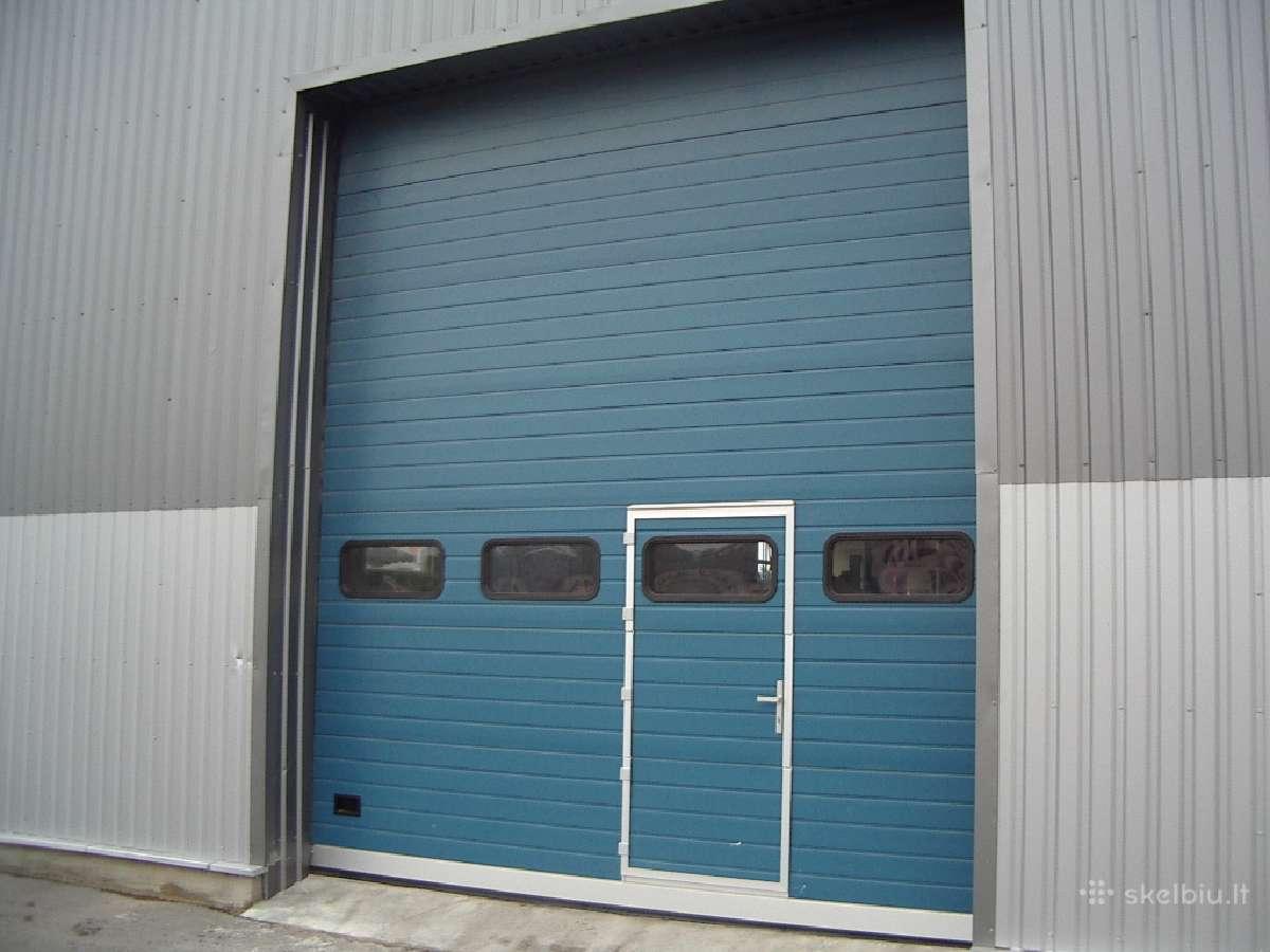 Akcija. pramoniniai pakeliami garažo vartai