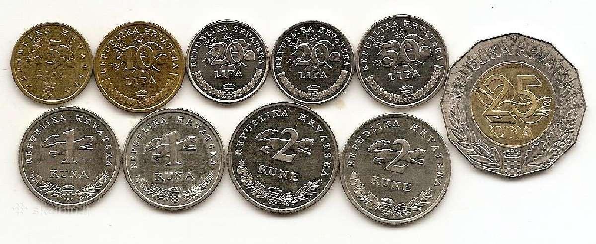 Kroatijos monetos