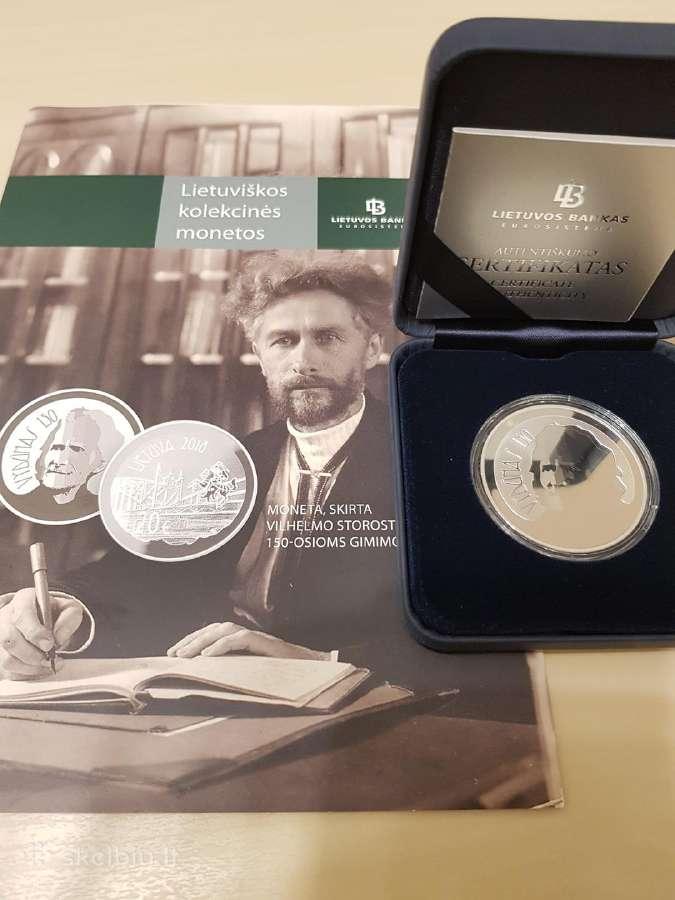 Vilhelmo Storostos-vydūno 150-osioms monetėlė !