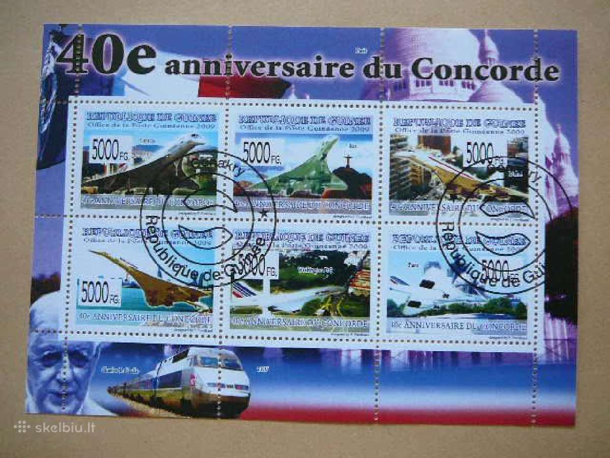 Lektuvai Concorde #gui10