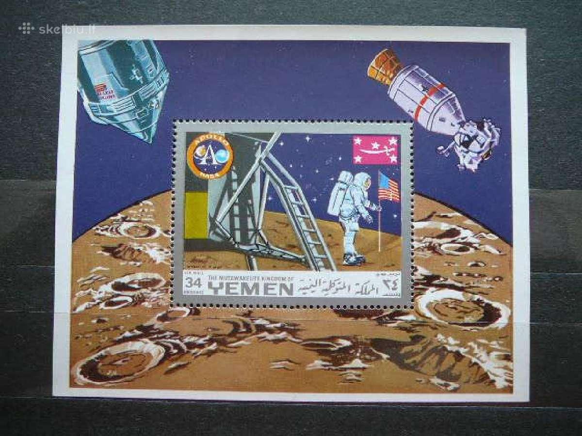 Kosmosas Apollo svarus #yem779
