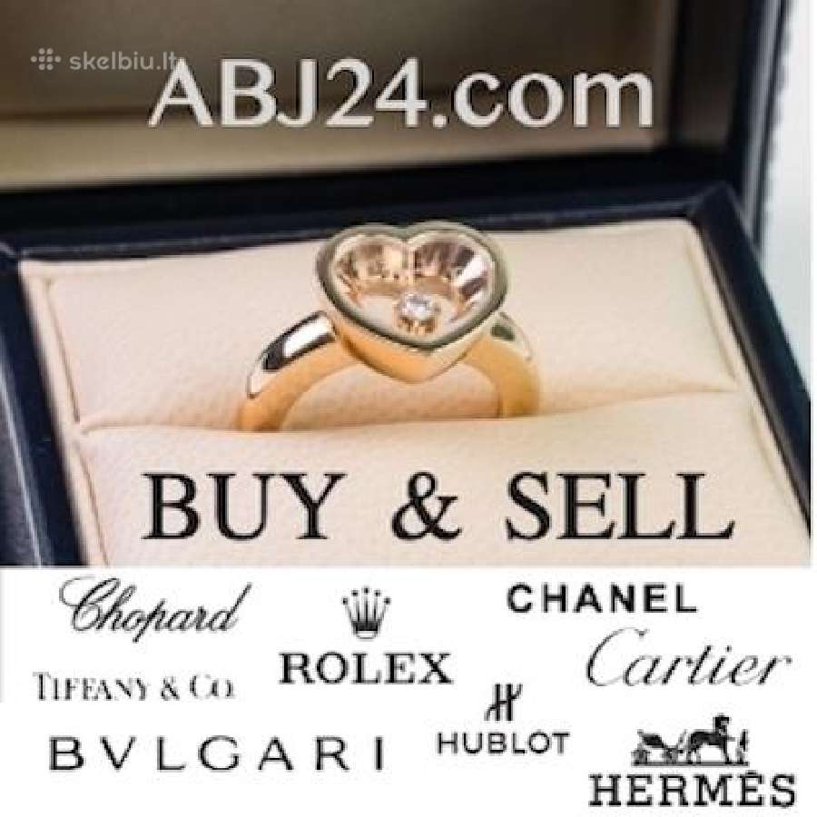 Rolex, Chopard, Cartier, Tiffani & Co, Bulgari