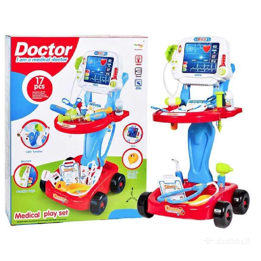 Žaisliniai gydytojo rinkiniai nuo 15€