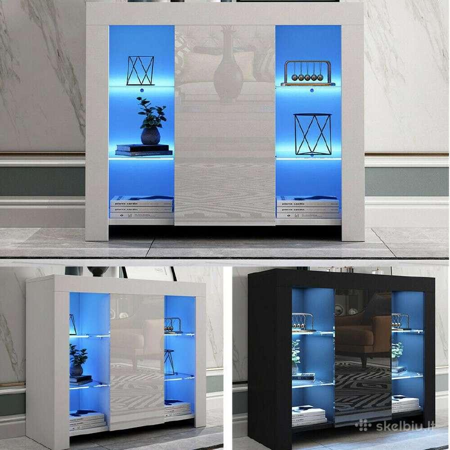 Naujos modernios komodos su Led