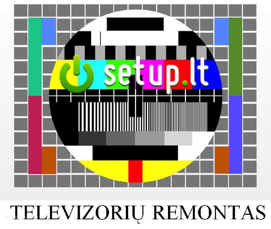 Televizorių remontas Vilniuje