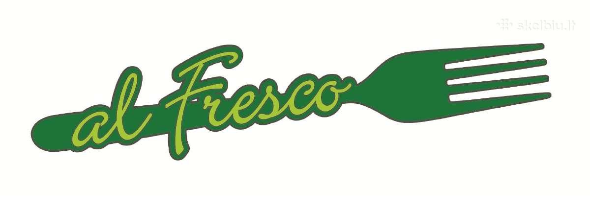 """Bistro """"al Fresco"""" ieškome vyr. virėjo ir virėjo"""