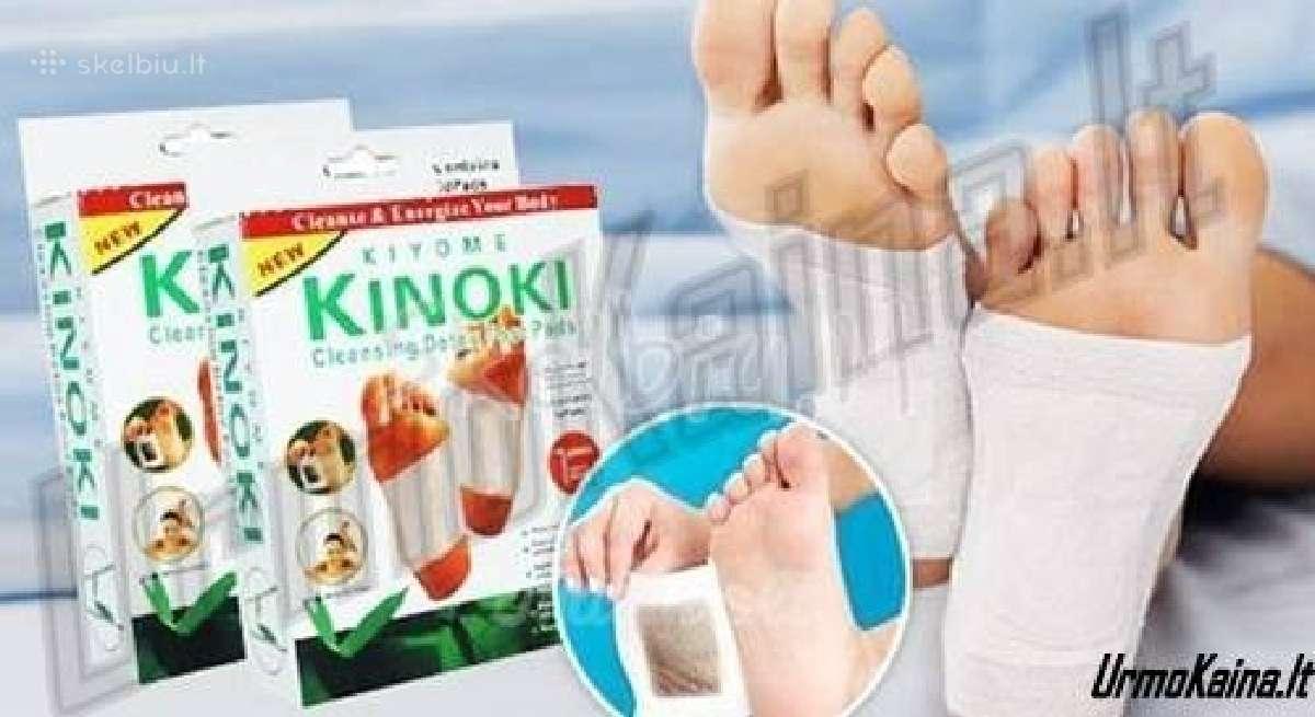 Kinoki detox detoksikaciniai pleistrai
