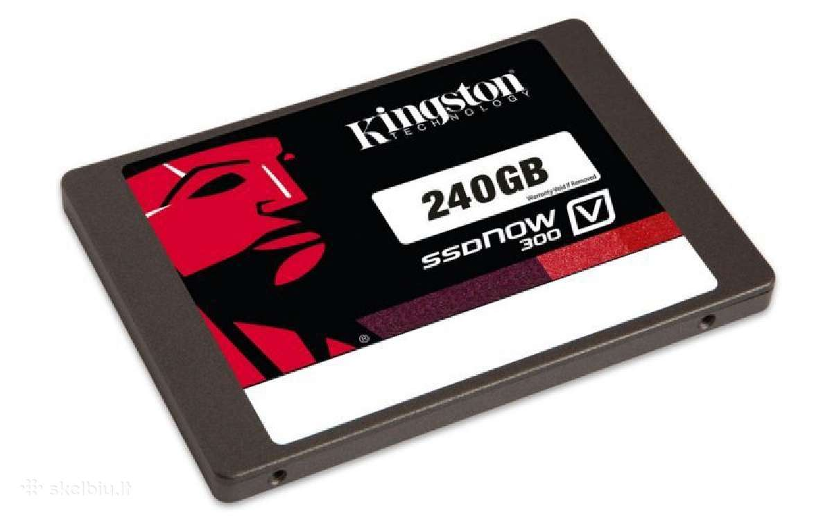 Kingston Samsung Evo SSD, Goodram diskas 120/240gb