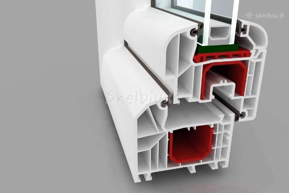 Pigiai keičiame daugiabučių laiptinių langus