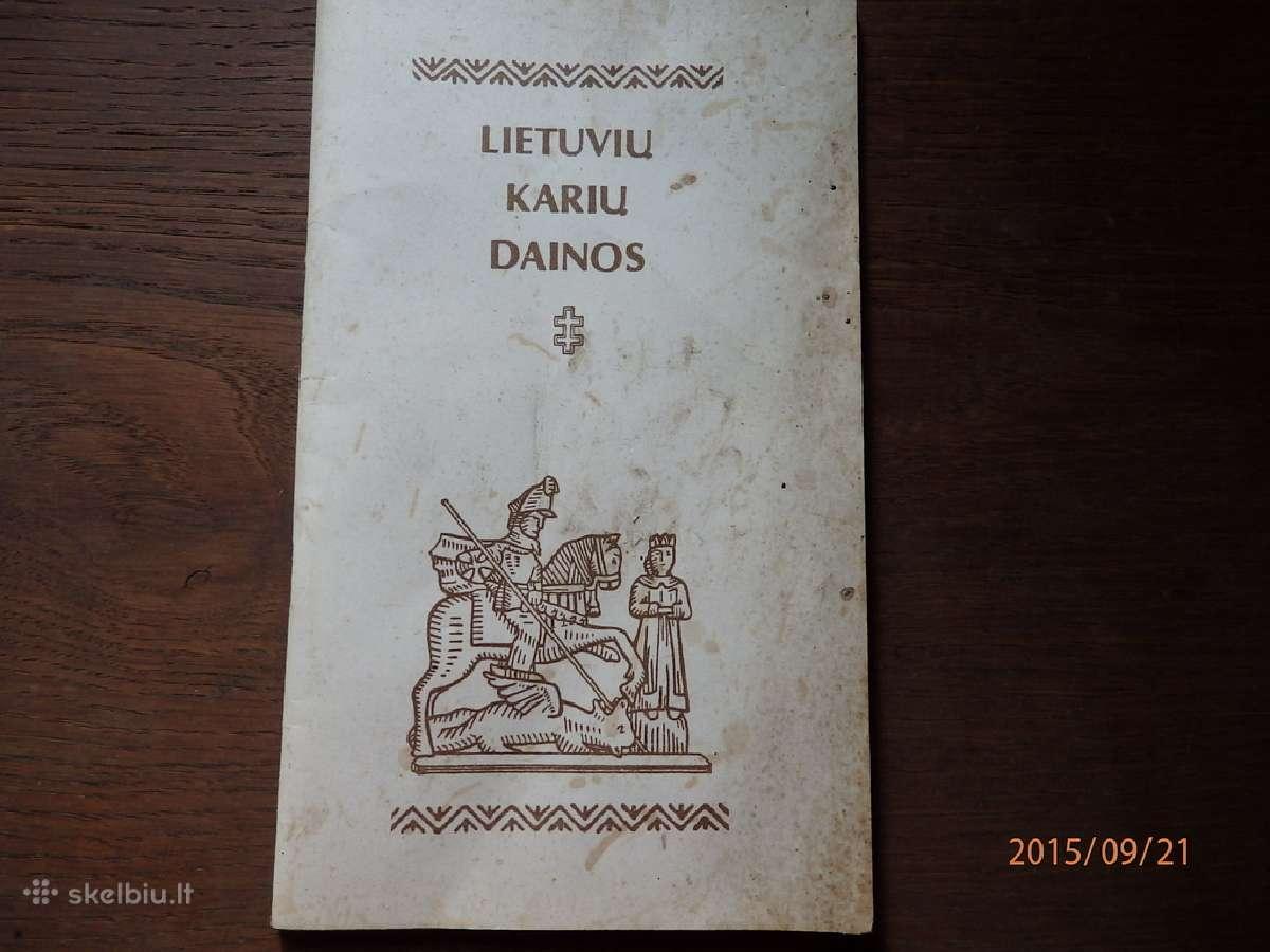 Sena knygute Lietuvos kariu dainos