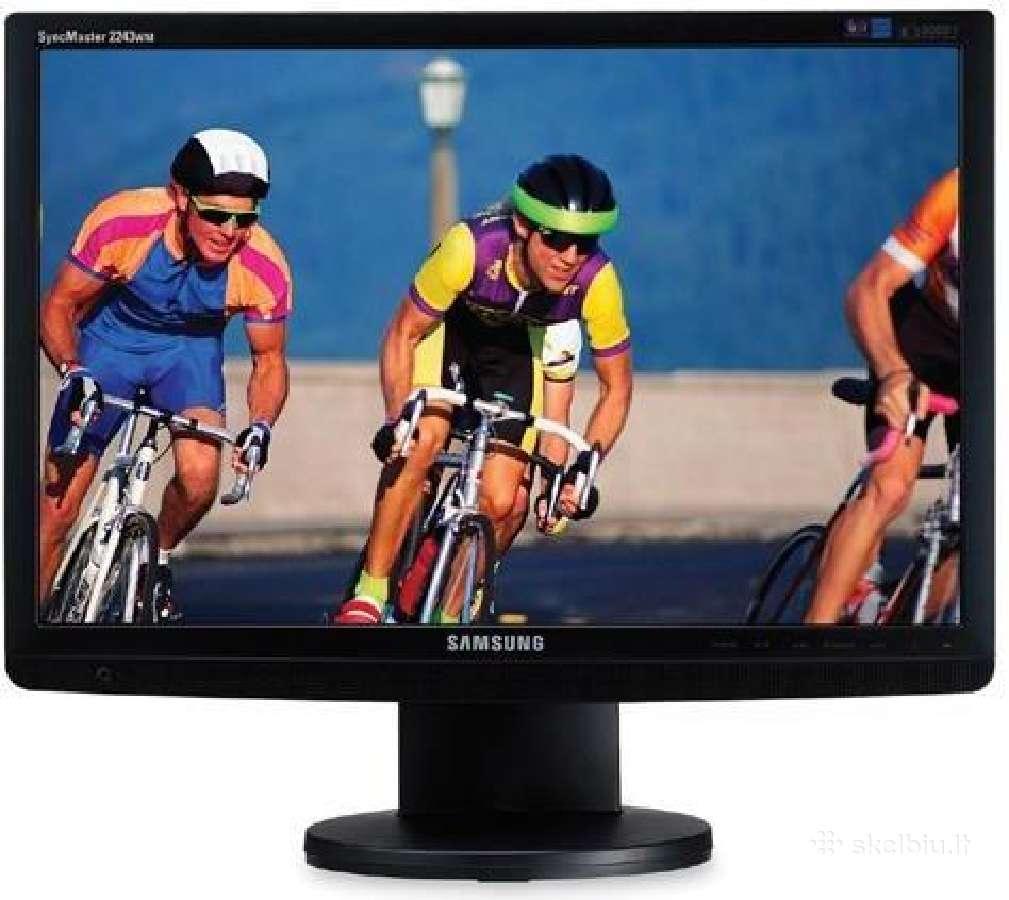 """Naudotas monitorius 22"""" Samsung Syncmaster 2243wm"""
