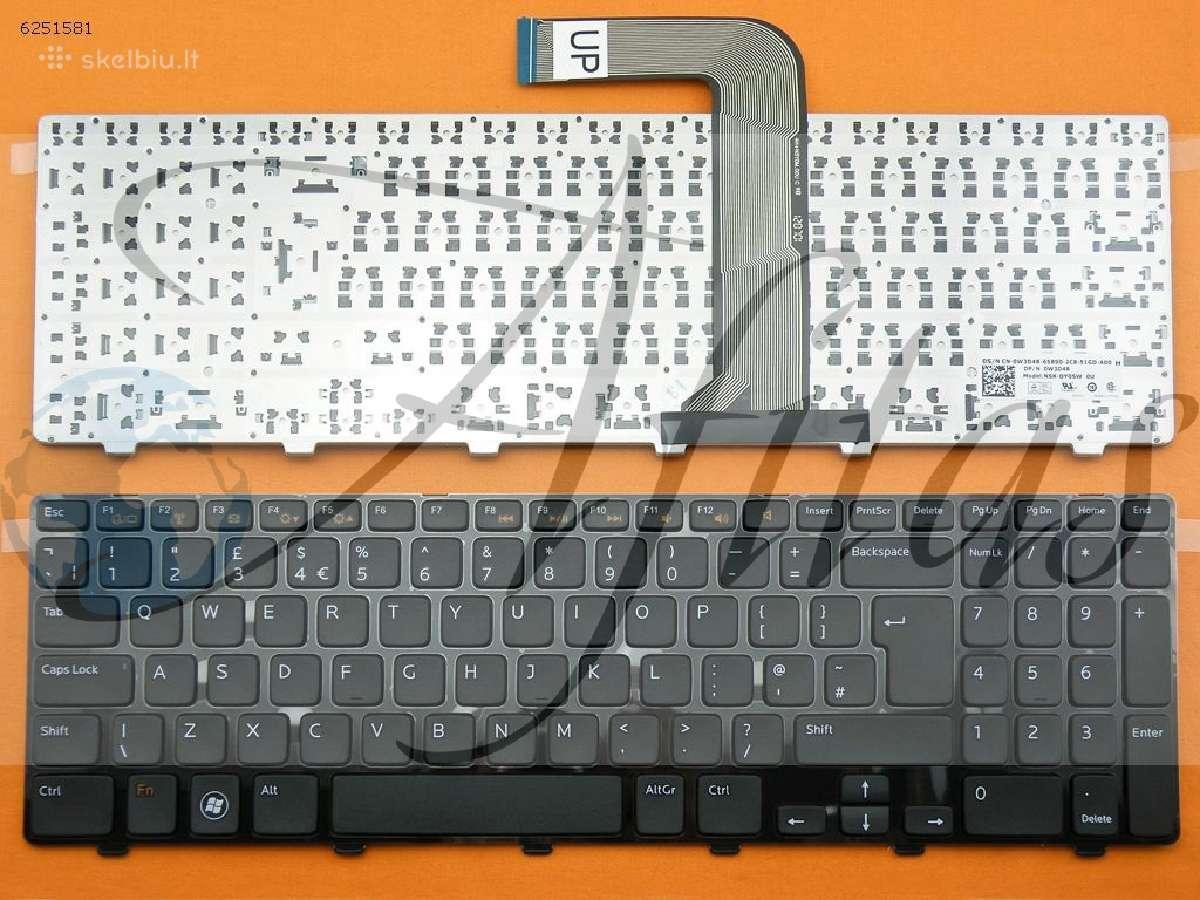 Nešiojamų kompiuterių klaviaturos