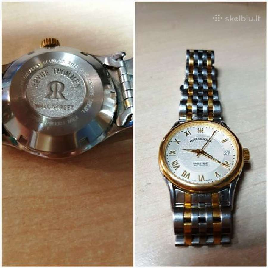 Revue Thommen Wall Street automatic