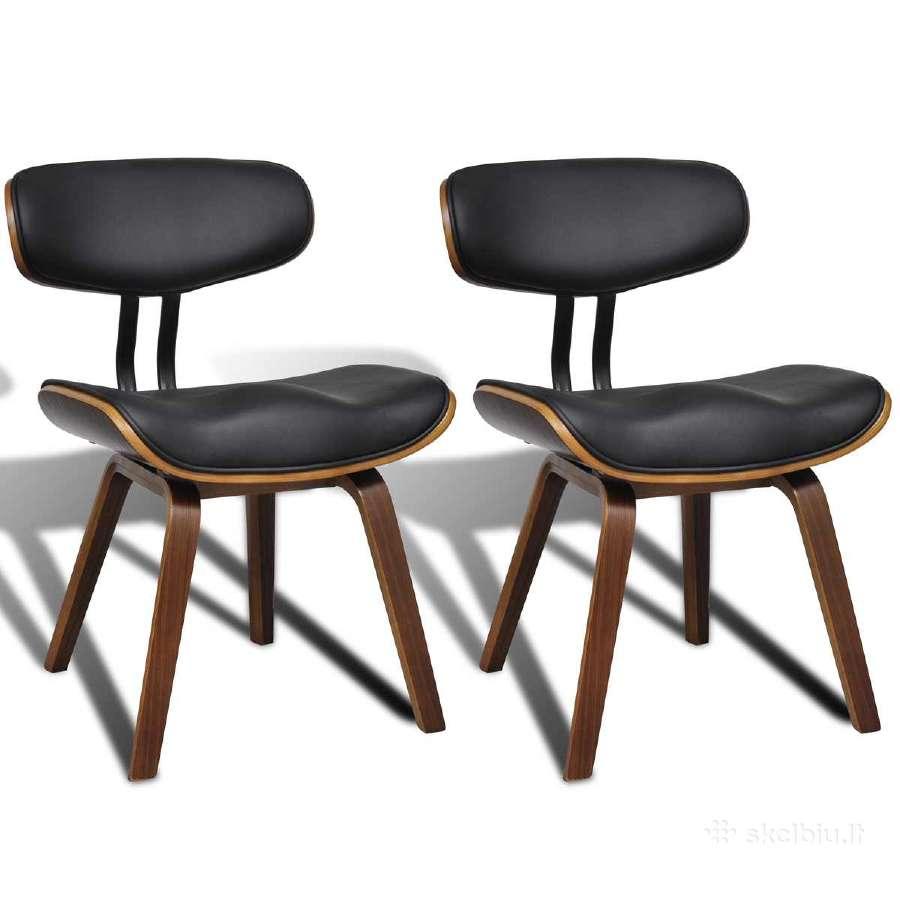 Vidaxl Dirbtinės Odos Valgomojo Kėdės 241054