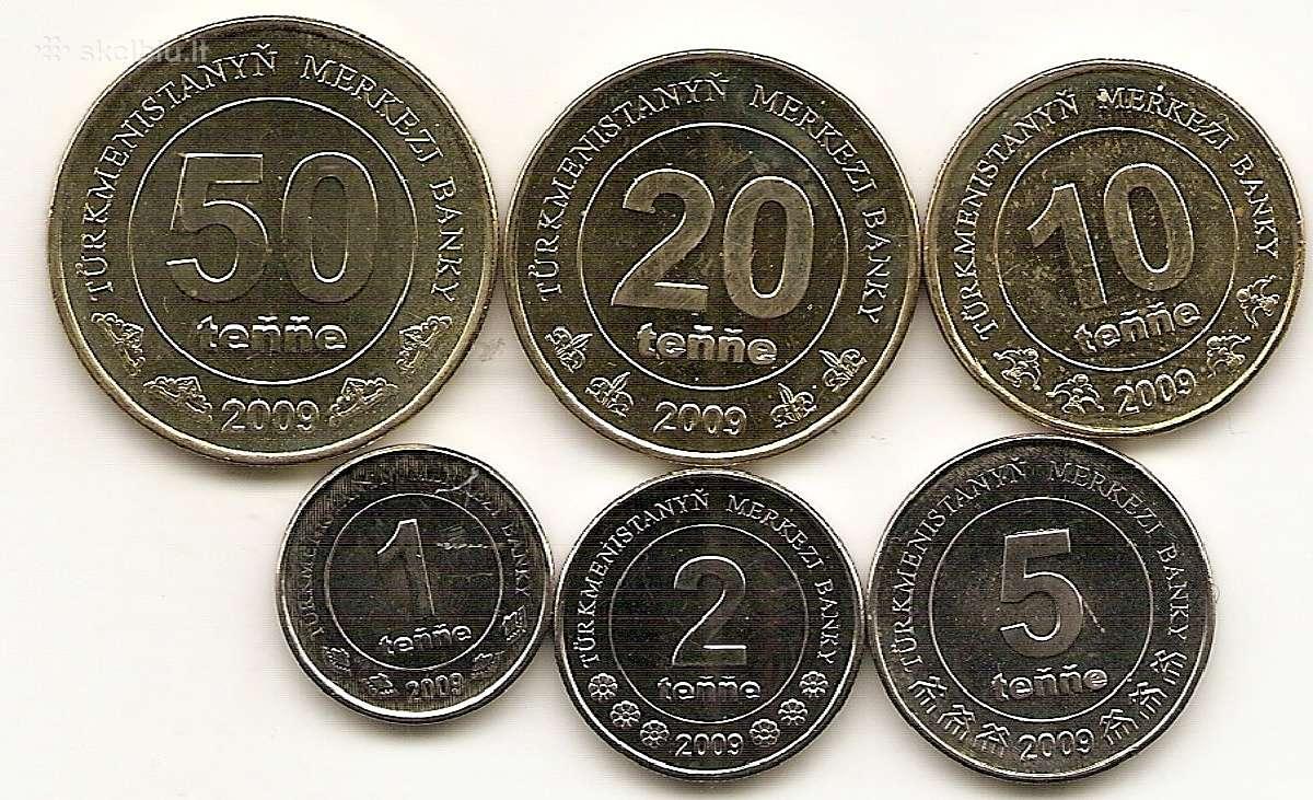 Turkmenistano monetu rinkinukas