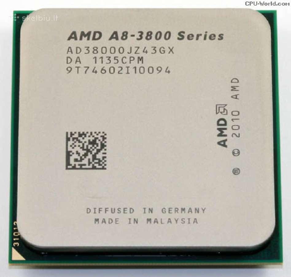 Stacionariu Pc procesoriai Amd Cpu Fm1