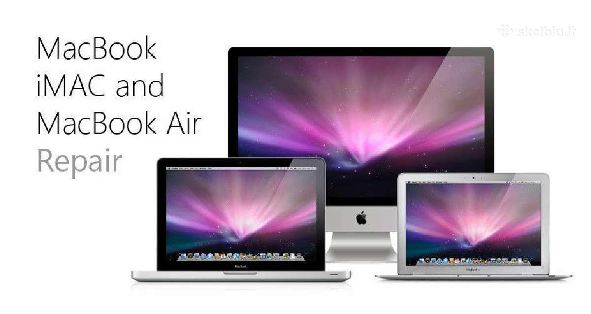 Pirkčiau MacBook, Air, Pro, iMac