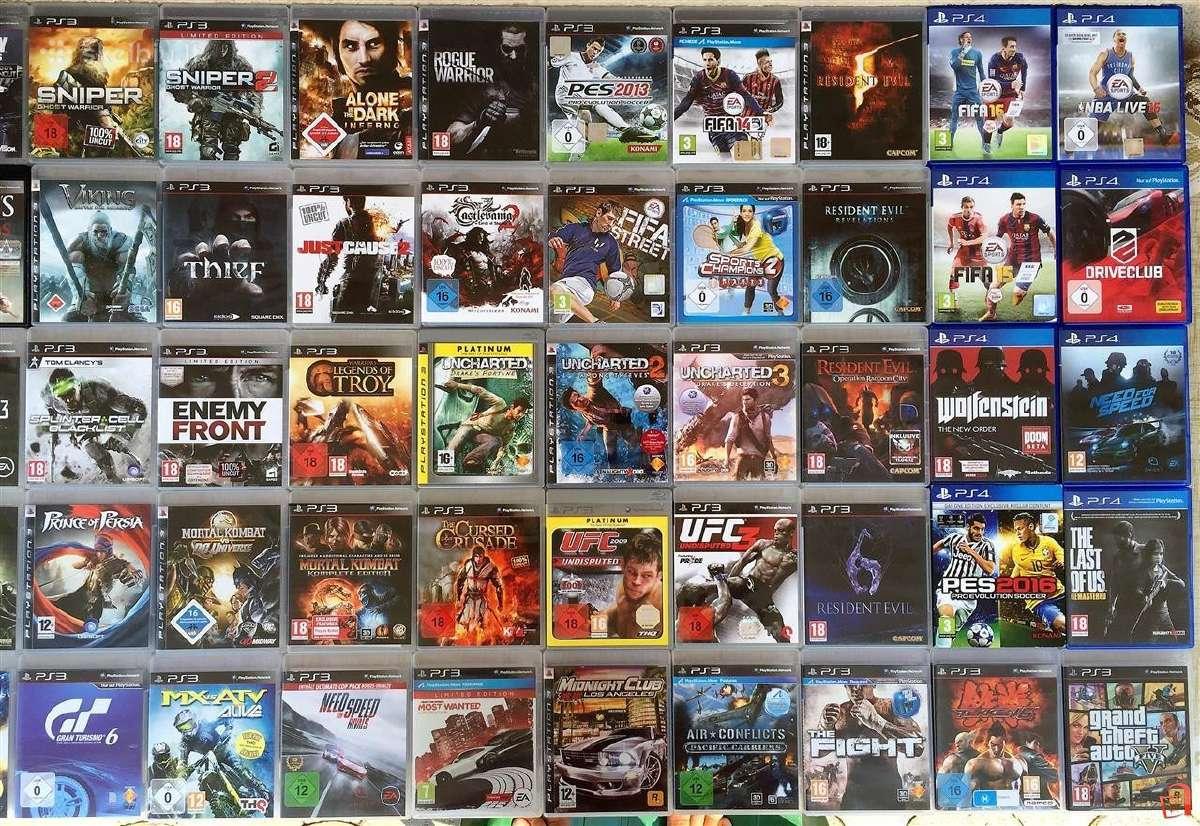 Perkame Playstation 3,4,xbox,xbox One zaidimus