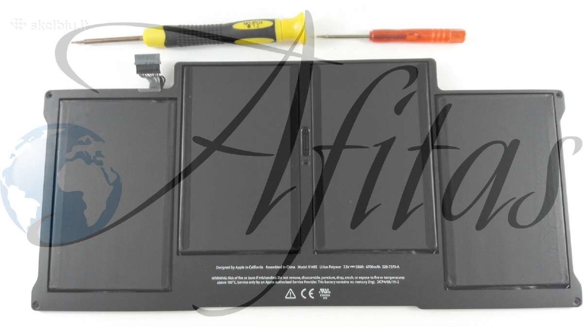 "Baterija Apple MacBook Air 13"" A1369, A1466 43 Eu"