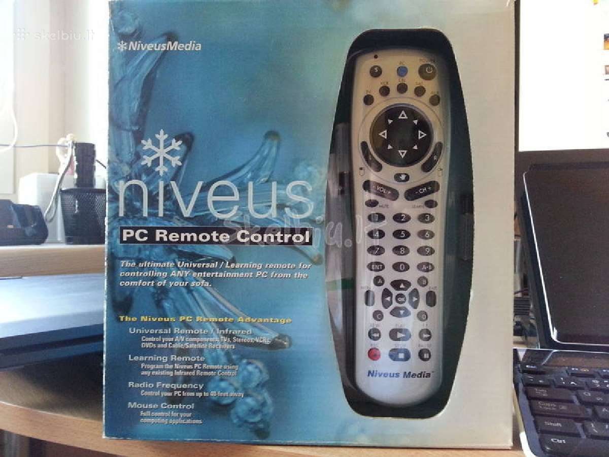 Pc remote control with niveus