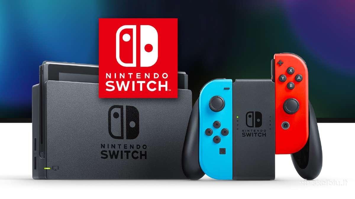 Atišti Nintendo Switch su garantija