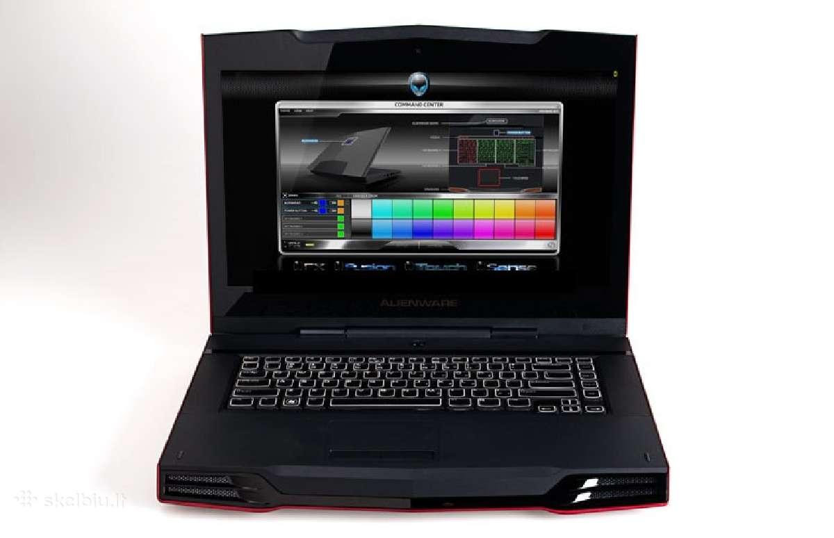 Parduodam Dell Alienware M15x dalimis