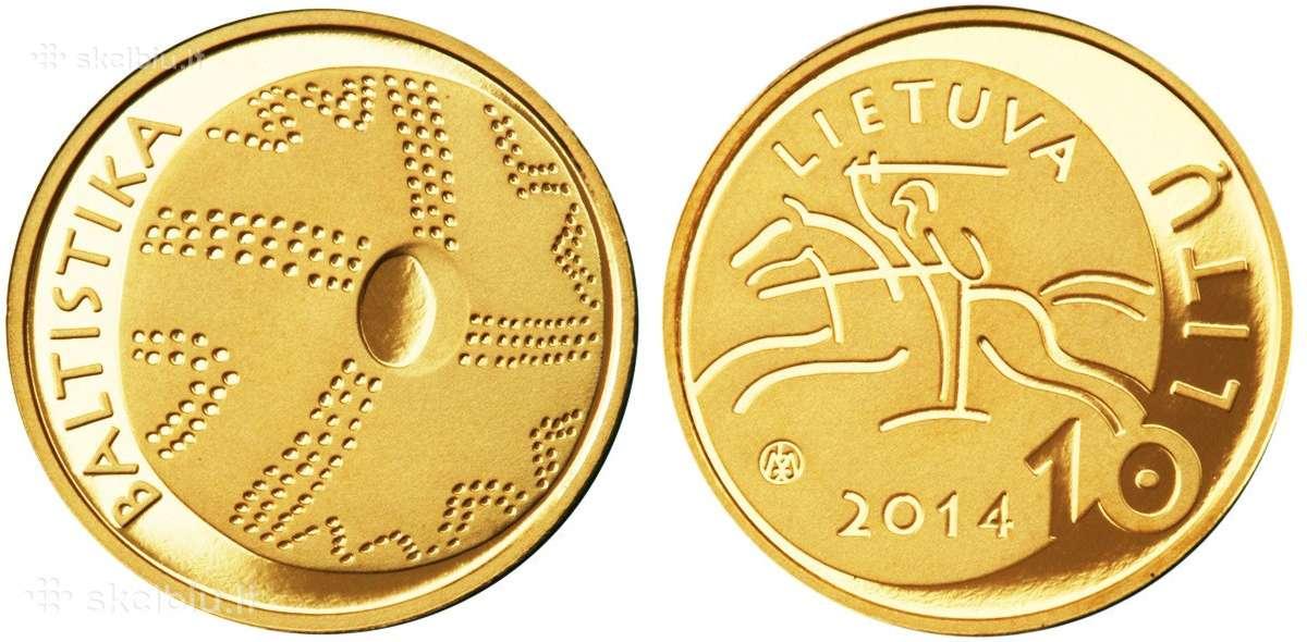 Parduodu kelias kolekcines lietuviškas monetas