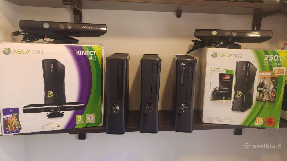 Atrištos Xbox 360 Konsolės Klaipėdoje Akcijos