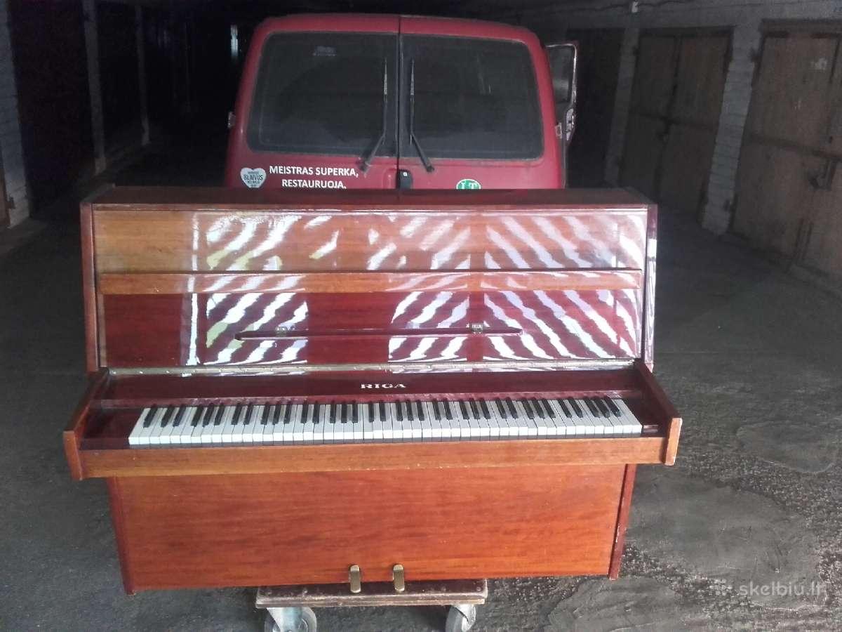 Parduodu pianina Ryga