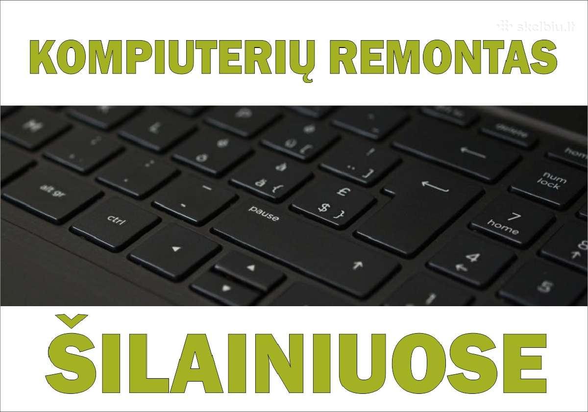 Kompiuterių remontas Šilainiuose