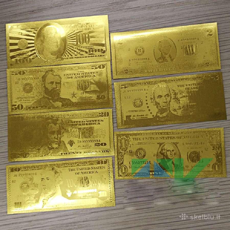 Auksiniai doleriai