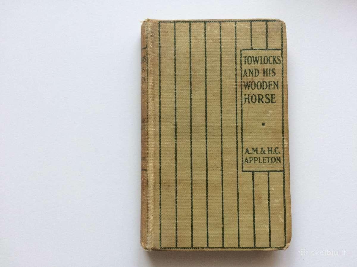 """Towlocks and his wooden horse"" knygelė vaikams"