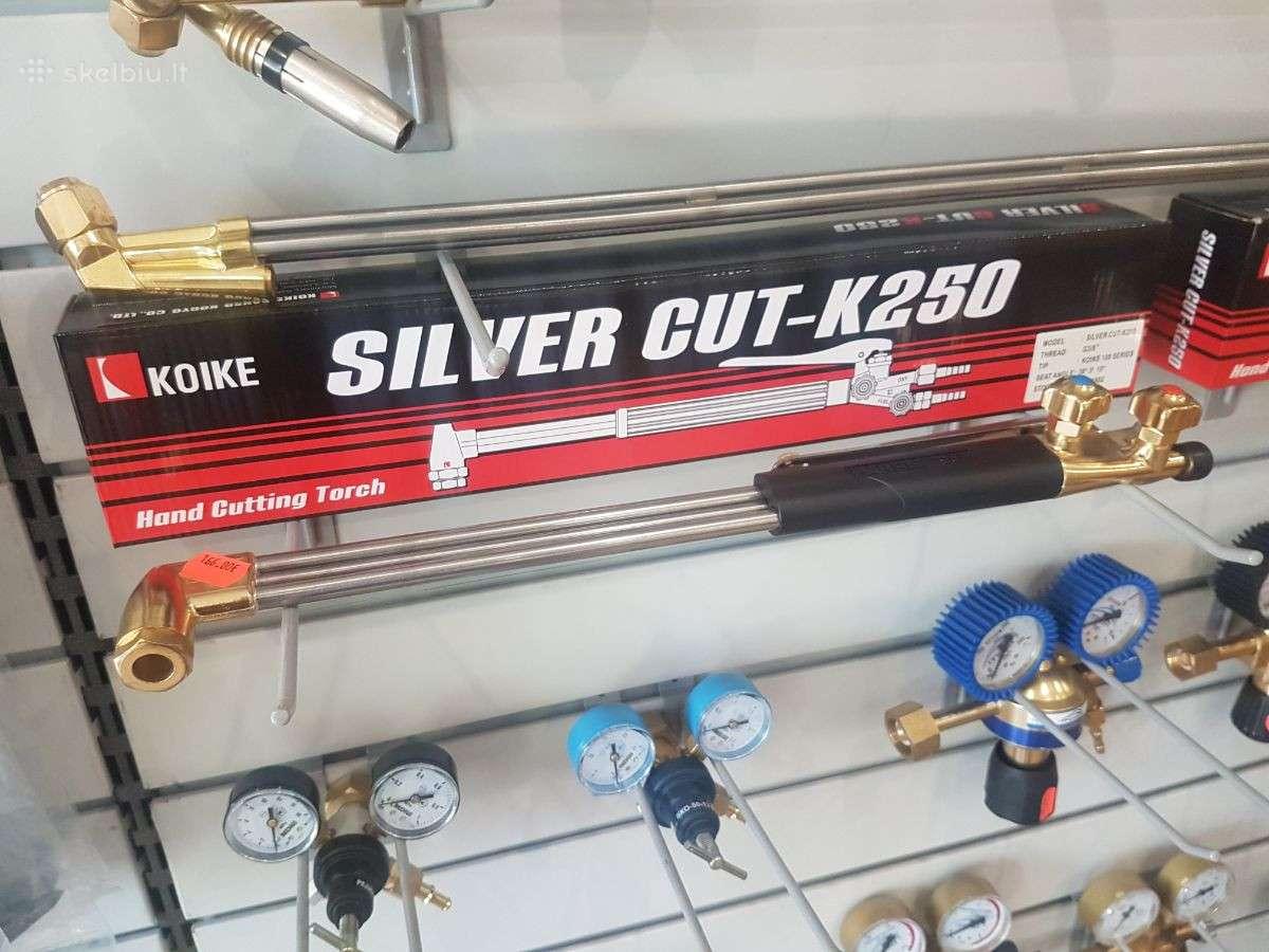 Pjoviklis Koike Silvercut 250 (trumpas)